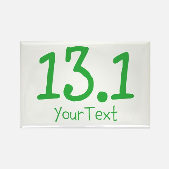 Customize GREEN 13.1 Rectangle Magnet