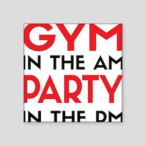 Gym In The AM Sticker