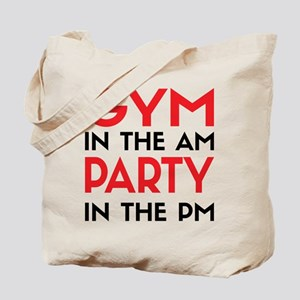 Gym In The AM Tote Bag