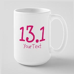 Customize Pink 13.1 (Right) Large Mug