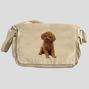 Poodle-(Apricot2) Messenger Bag