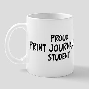 print journalism student Mug