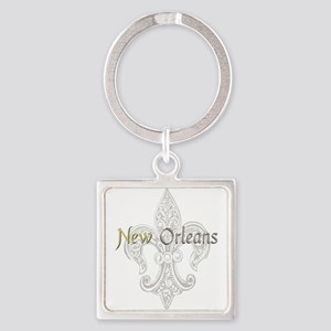 New Orleans Square Keychain