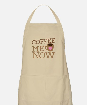 Coffee me NOW with coffee cup Apron