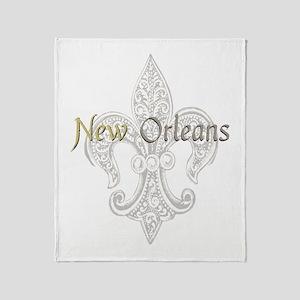 New Orleans Throw Blanket