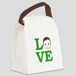 """Love Baby"" Canvas Lunch Bag"