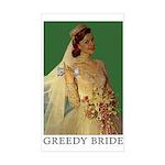 greedybride sticker