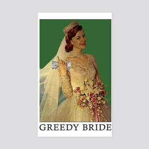 greedybride sticker