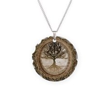Tree of Life in Brown Necklace