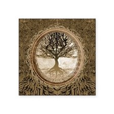 Tree of Life in Brown Sticker