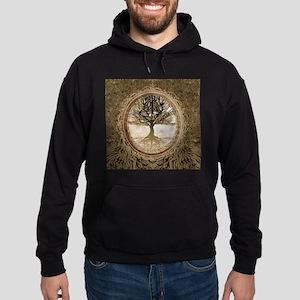 Tree of Life in Brown Hoodie