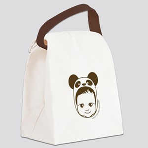 Panda Baby Canvas Lunch Bag
