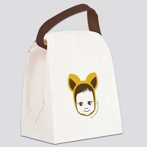 Fox Baby Canvas Lunch Bag