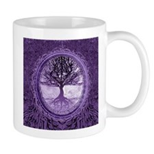 Tree of Life in Purple Mugs