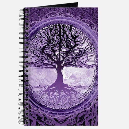 Tree of Life in Purple Journal
