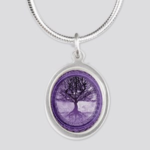 Tree of Life in Purple Necklaces