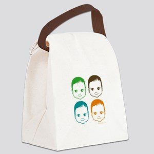 Colorful Baby Canvas Lunch Bag