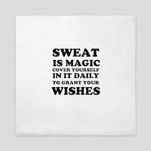 Sweat is Magic Queen Duvet