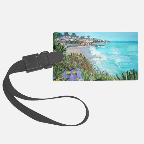 Laguna Beach Luggage Tag