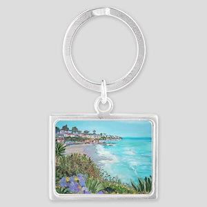 Laguna Beach Landscape Keychain