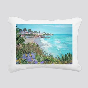Laguna Beach Rectangular Canvas Pillow