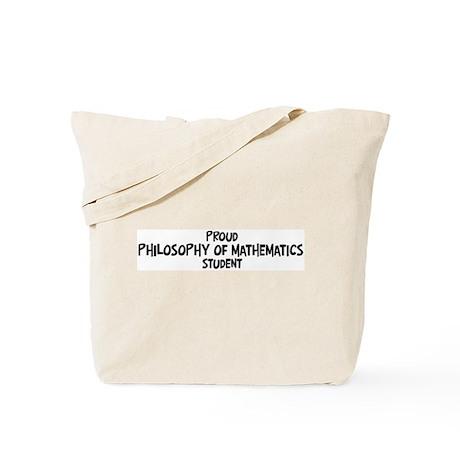 philosophy of mathematics stu Tote Bag