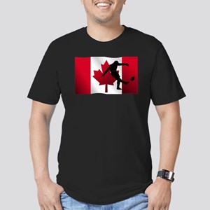 Rugby Kick Canadian Flag T-Shirt