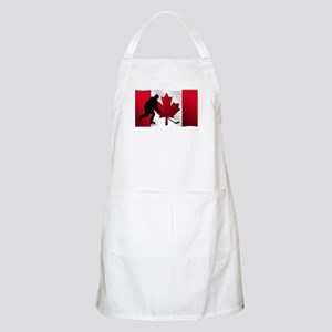 Hockey Canadian Flag Apron