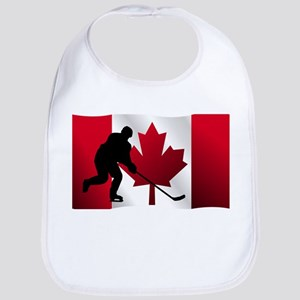 Hockey Canadian Flag Bib