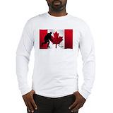 Canadian Long Sleeve T Shirts
