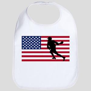 Lacrosse American Flag Bib
