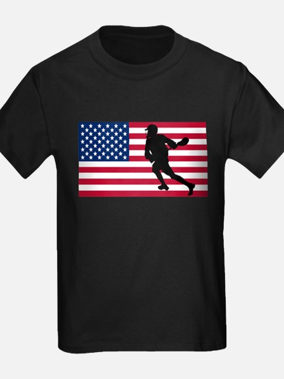 Lacrosse American Flag T-Shirt