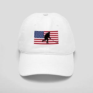 Hockey American Flag Cap