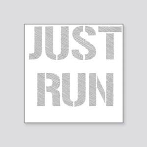 Just Run Sticker