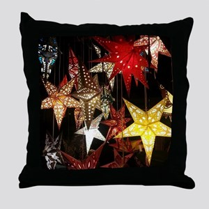Star Lanterns Throw Pillow