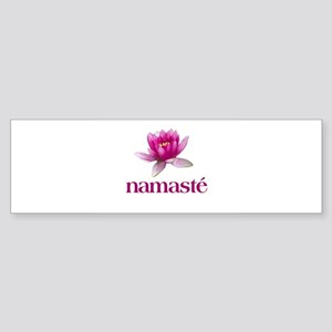 namaste Bumper Sticker