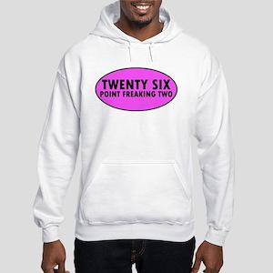 Pink Twenty Six Point Freaking Two Oval Jumper Hoo