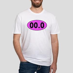 Pink 00.0 Running Oval T-Shirt
