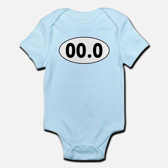 00.0 Running Oval Body Suit