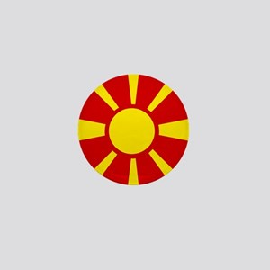 Flag of Macedonia Mini Button