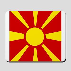Flag of Macedonia Mousepad