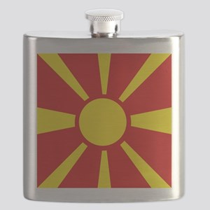 Flag of Macedonia Flask