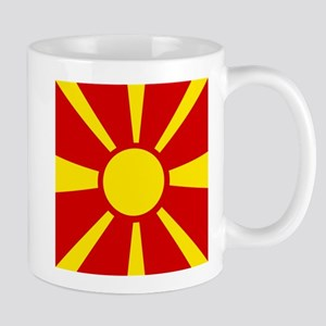 Flag of Macedonia Mugs
