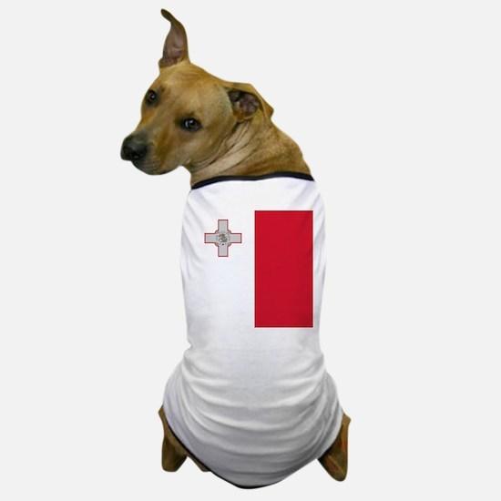 Flag of Malta Dog T-Shirt