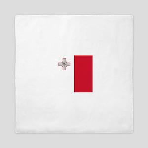 Flag of Malta Queen Duvet