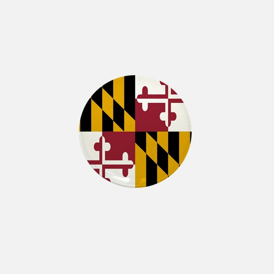 State Flag of Maryland Mini Button