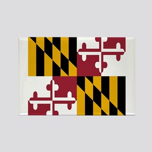 State Flag of Maryland Magnets