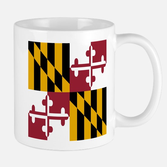 State Flag of Maryland Mugs