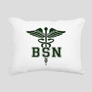 BSN Rectangular Canvas Pillow