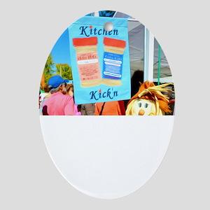 Kitchn Kick'n Creative Spice Blends  Oval Ornament